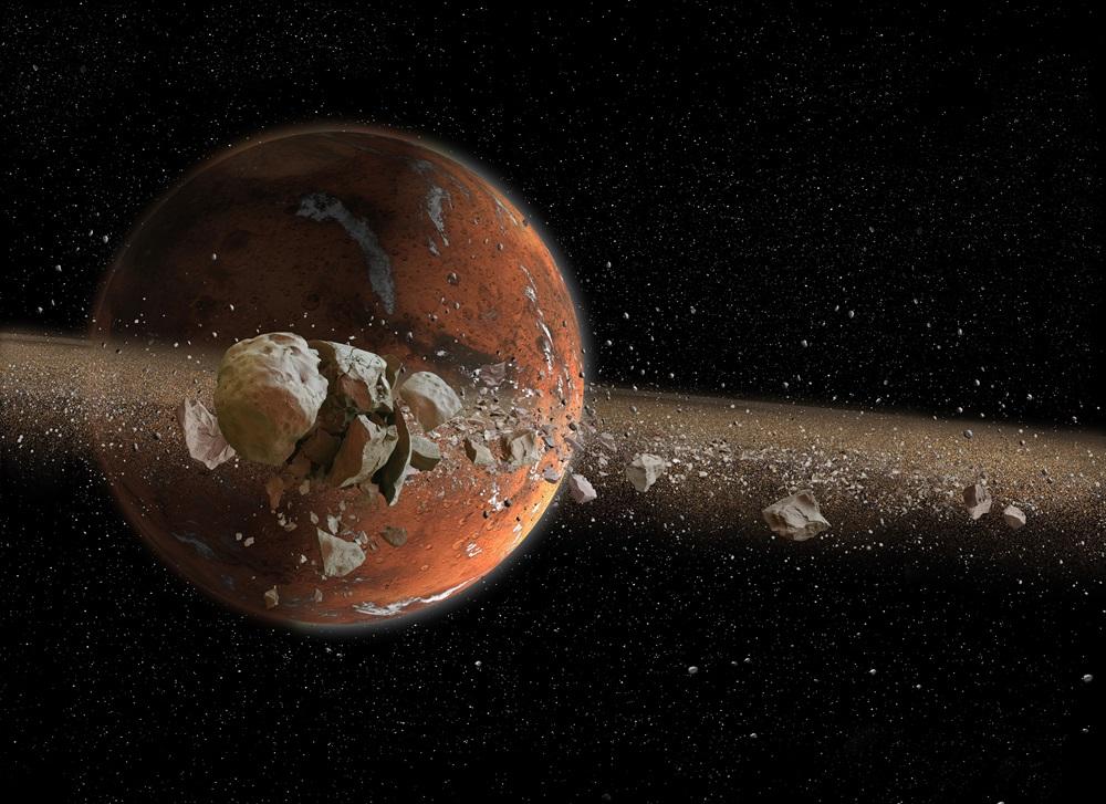 Sistema solare : i pianeti Marsringsmoons