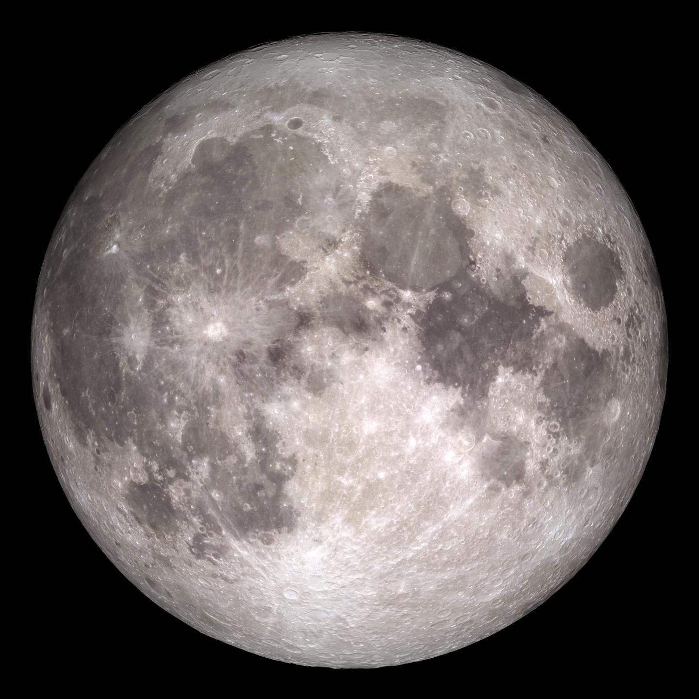 La Luna metallica.